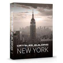 CAIXA LIVRO CRYSLER BUILDING NEW YORK