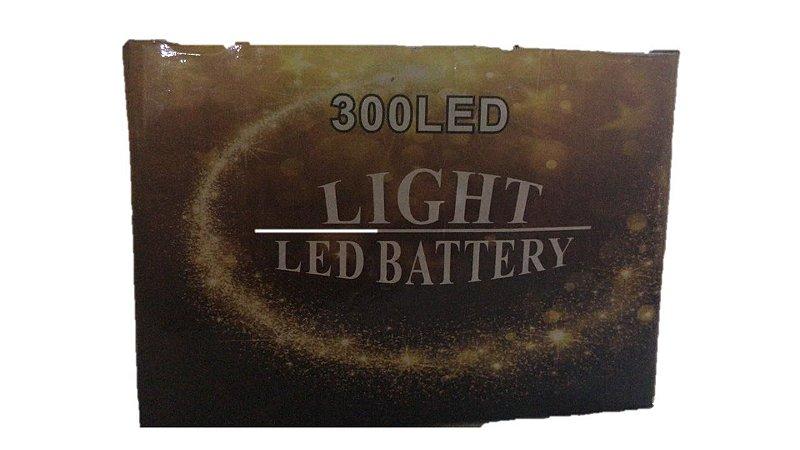 LED PRATA BRANCA - 300 LEDS - 110V