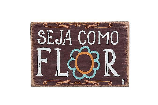 Box Seja como flor 10X15