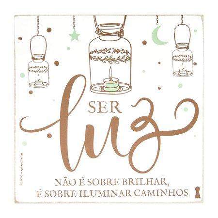 Box Ser Luz 25x25cm