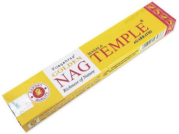 Incenso Massala Golden - Nag Temple - Richness of Nature