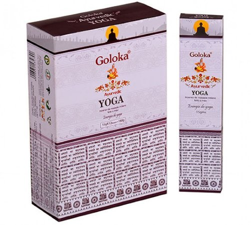 Incenso Massala Goloka - Yoga