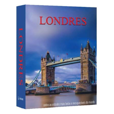 CAIXA LIVRO BOOK BOX LONDRES