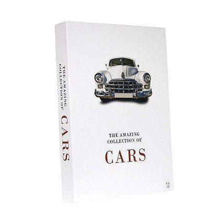 CAIXA LIVRO BOOK BOX THE COLLECTION OF CARS VOL.2