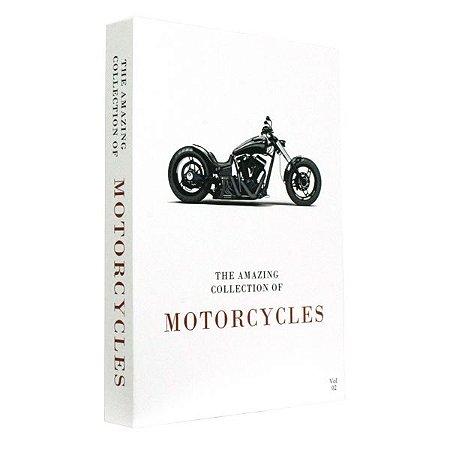 CAIXA LIVRO BOOK BOX THE COLLECTION OF MOTORCYCLES VOL.2