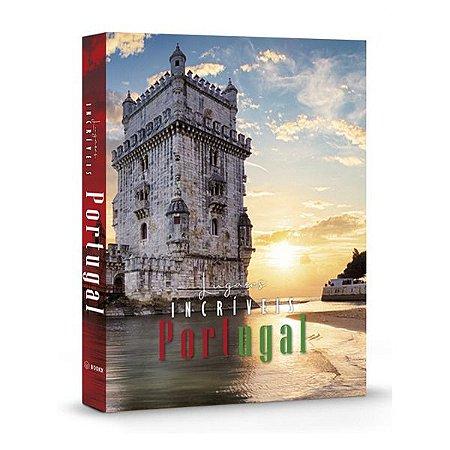 CAIXA LIVRO BOOK BOX LUGARES INCRIVEIS PORTUGAL