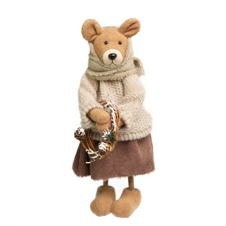 Ursa Fancy Decorativa em Pelucia