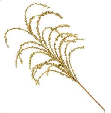Galho Natalino - Dourado - 80 cm