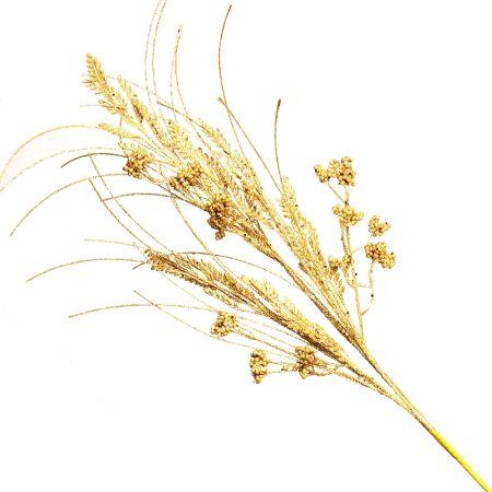 Galho Decorativo Dourado 98cm