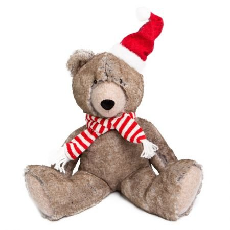 Urso Decor Soffy con gorro e cachecol