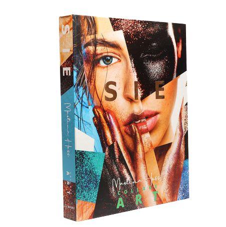 CAIXA LIVRO BOOK BOX SIE COLLAGE ART