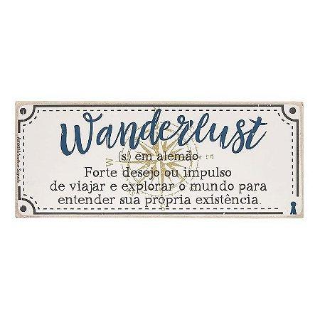 Quadro Box Wanderlust 12X30