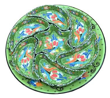 Petisqueira Turca com prato e 7 cumbucas