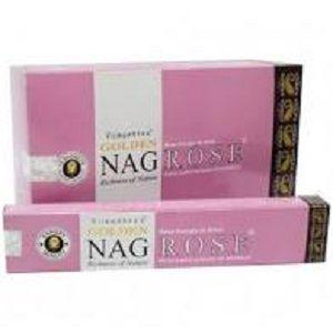 Incenso Massala Golden - Nag Rose