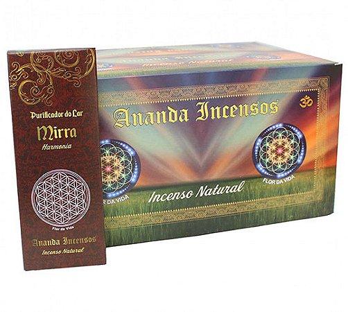 Ananda Incensos - Purificador do lar Mirra