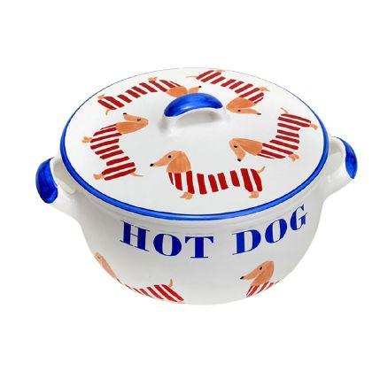 Terrina C/ Tampa  Hot Dog Luiz Salvador