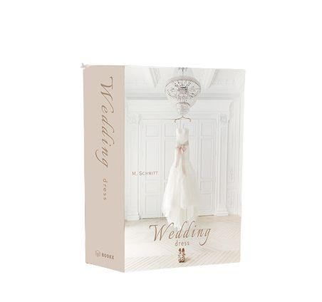 CAIXA LIVRO BOOK BOX WEDDING DRESS