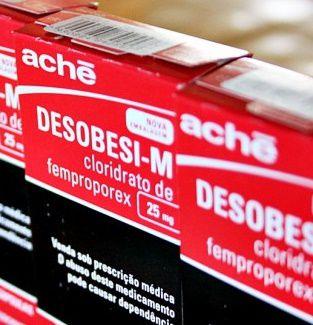 Desobesi - M FEMPROPOREX 25mg com 30comprimidos