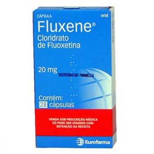 Fluxene 20 mg com 28 Cápsulas