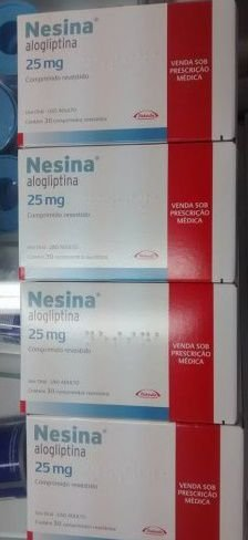 Nesina 25mg Takeda 30 ComprimidoS