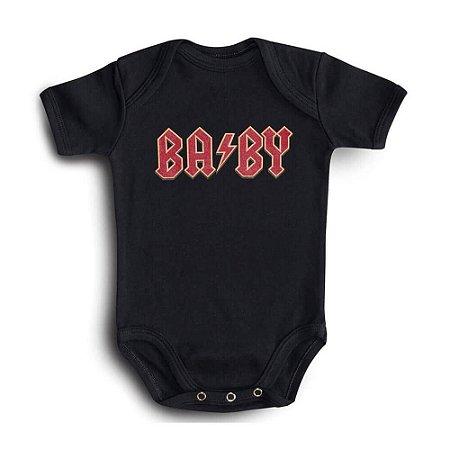 BODY BEBÊ ROCK AC/DC BABY HONEY PEPPERS