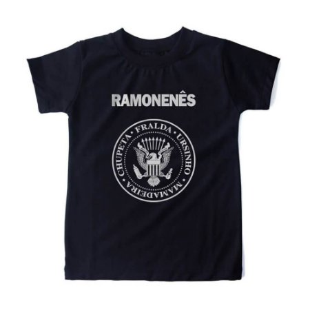 CAMISETA INFANTIL RAMONENÊS HONEY PEPPERS