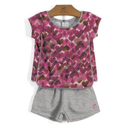 CONJUNTO INFANTIL HEART UP BABY