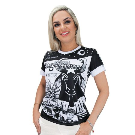 Camisa Oficial Black - Babylook - Caprichoso 2019