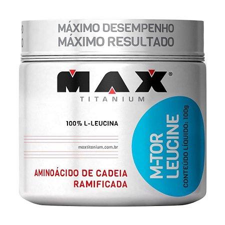 M-TOR LEUCINE - 100G - MAX TITANIUM