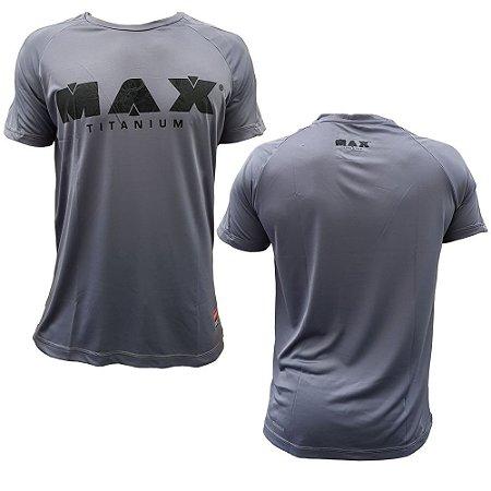 CAMISETA CINZA MAX TITANIUM - MAX CLOTHING 4793