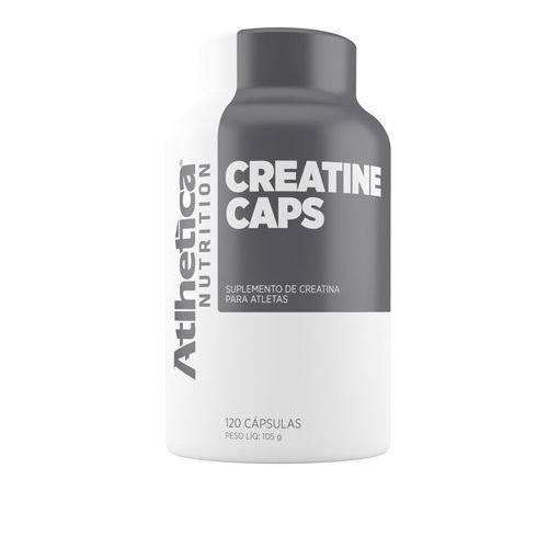 CREATINE CAPS - 120 CAPS - ATLHETICA