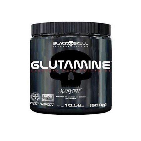 GLUTAMINA - 500G - BLACK SKULL