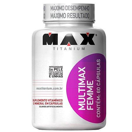 MULTIMAX FEMME - 60 CAPS - MAX TITANIUM