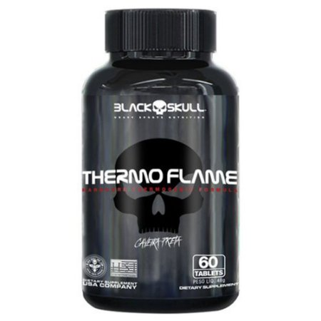 THERMO FLAME - 60 TABS - BLACK SKULL