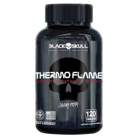 THERMO FLAME - 120 TABS - BLACK SKULL