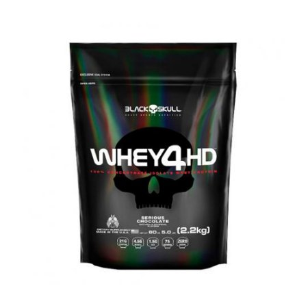 REFIL WHEY 4HD - 2,2KG - BLACK SKULL