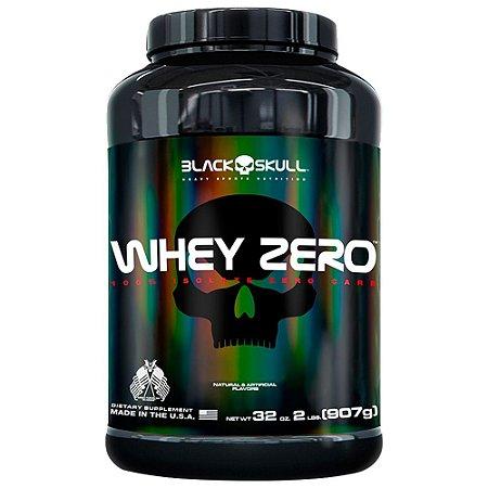WHEY ZERO - 907G - BLACK SKULL