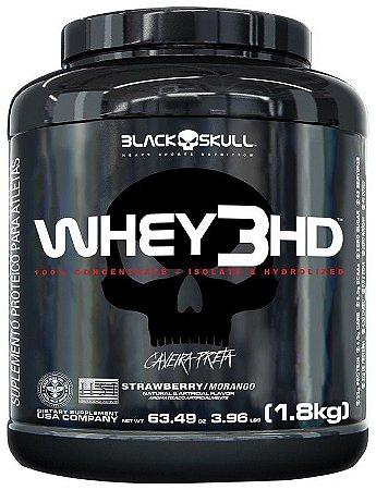 WHEY 3HD - 1,8KG - BLACK SKULL