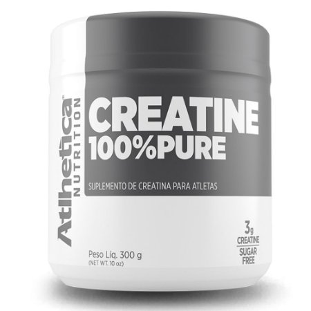 CREATINA 100% PURE - 300G - ATLHETICA