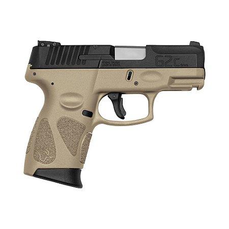 Arma de Fogo Pistola Taurus Tan G2C 9mm 12+1 Tiros