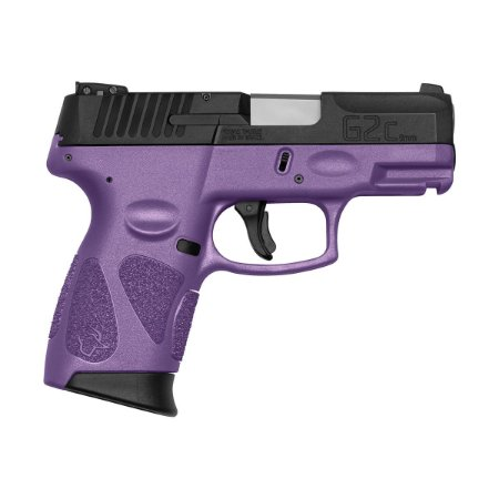 Arma de Fogo Pistola Taurus Dark Purple G2C 9mm 12+1 Tiros