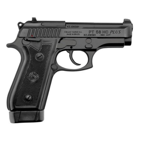 Arma de fogo modelo PT 58 Hc Plus Oxidada 380 Taurus
