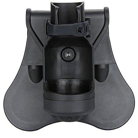 Porta Lanterna Em Polímero Cytac Modelo Cy-fh01 Com Aba Padd