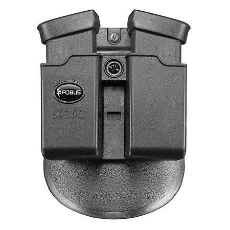Porta Carregador Duplo Ambidestro Só Coldres Imbel Glock 40