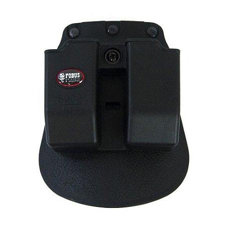Porta Carregador Duplo Ambidestro Pistola 58HcPlus 938 940 638 838