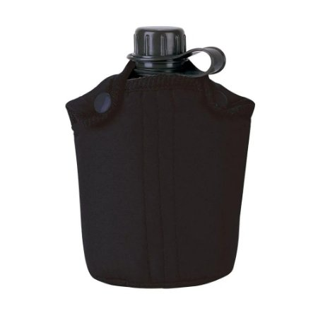 Cantil Portátil em Plastico Marca Nautika para 900ml Cor Prerta