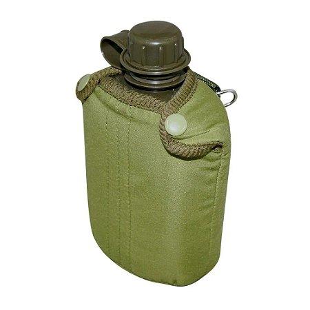 Cantil Portátil em Plastico Marca Nautika para 900ml Cor Verde