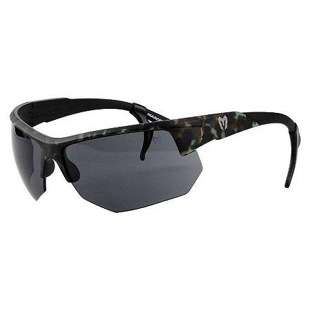 Óculos Tático Marcos Do Val Spartan Camuflado com Lente Preta