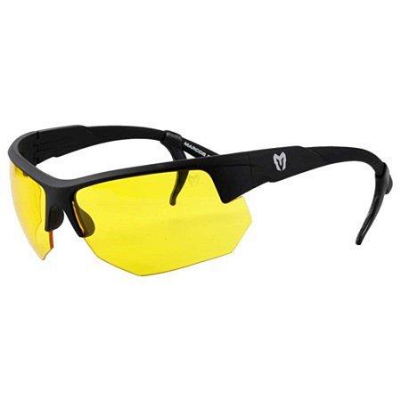 Óculos Tático Marcos Do Val Spartan Preto com Lente Amarela