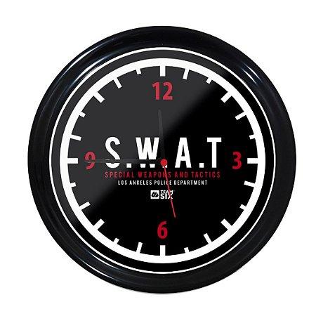 Relógio de Parede Swat